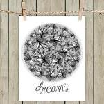 Poster Print 8x10 - Dreams Illustra..